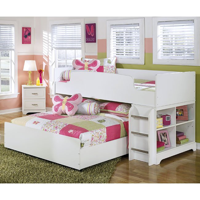Lulu Twin over Full Loft Bed