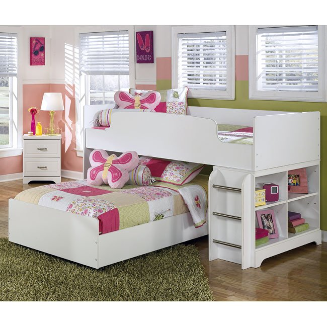 Lulu Twin Over Twin Loft Bed