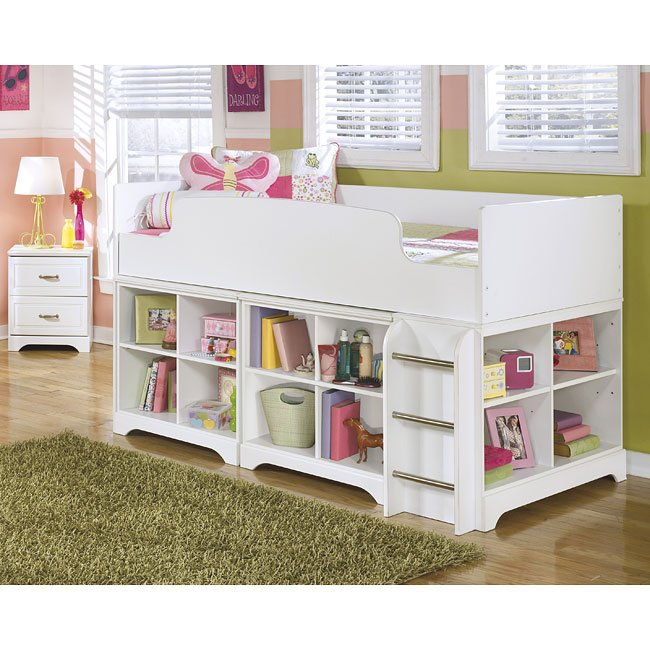 Lulu Bedroom Set w/ Loft Storage Bed