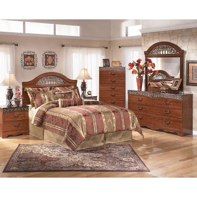 Fairbrooks Estate Headboard Bedroom Set