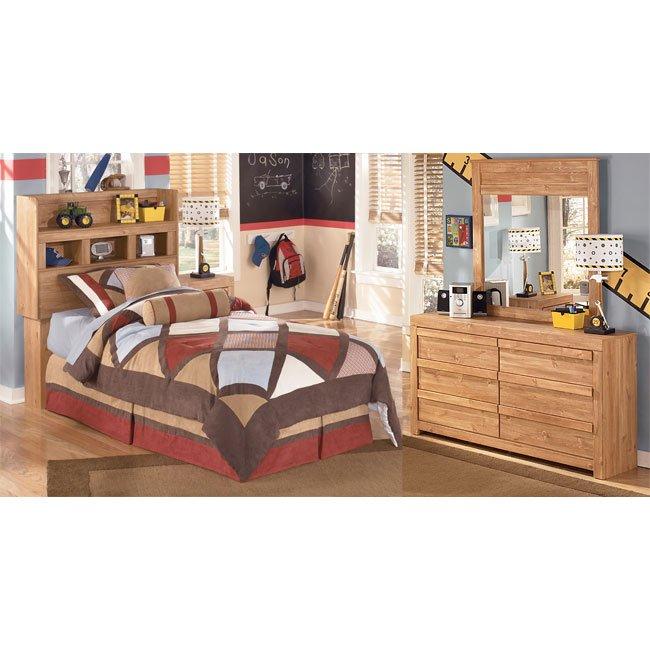 Dearing Lodge Bookcase Headboard Bedroom Set Signature Design | Furniture  Cart