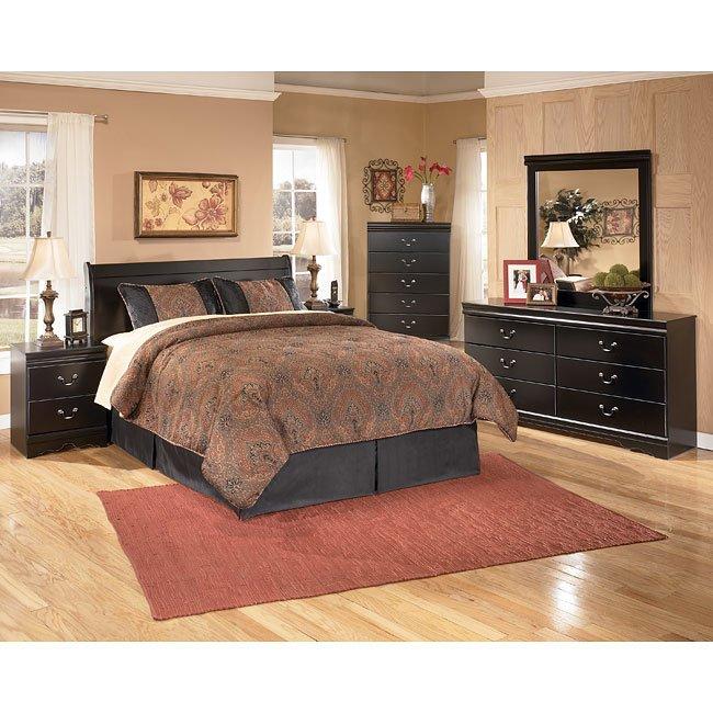 Huey Vineyard Headboard Bedroom Set