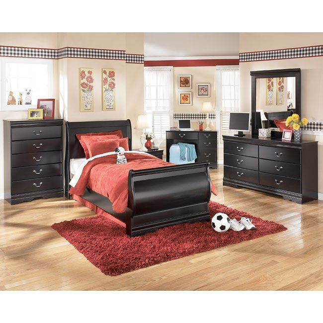 Huey Vineyard Youth Sleigh Bedroom Set