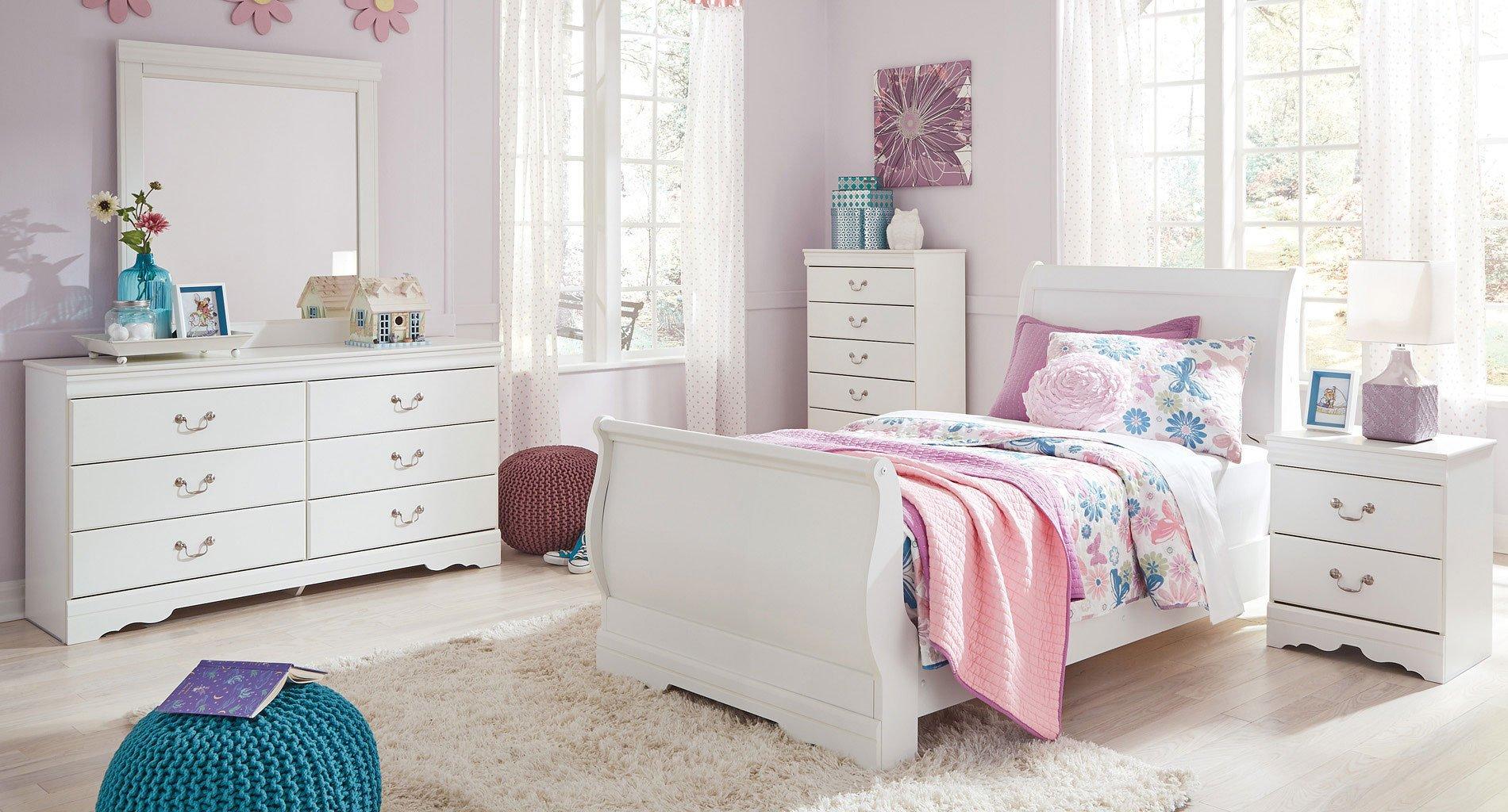 Anarasia Youth Sleigh Bedroom Set