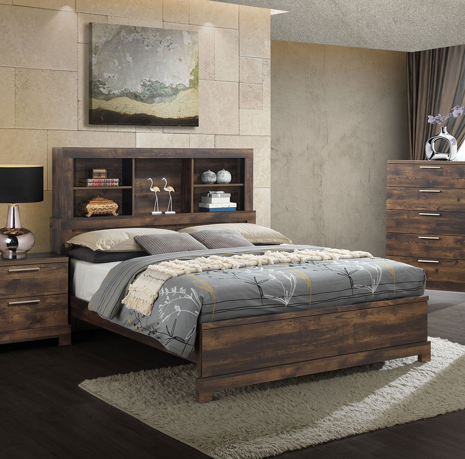 . Campbell Bookcase Bedroom Set