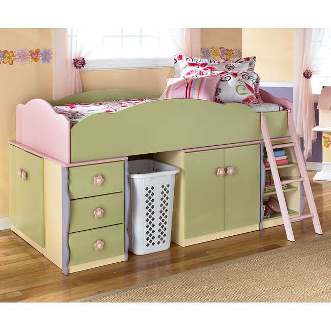 Tiny Box Room Ikea Stuva Loft Bed Making The Most Of: Doll House Open Space Loft Bed W/ Drawers And Door Storage