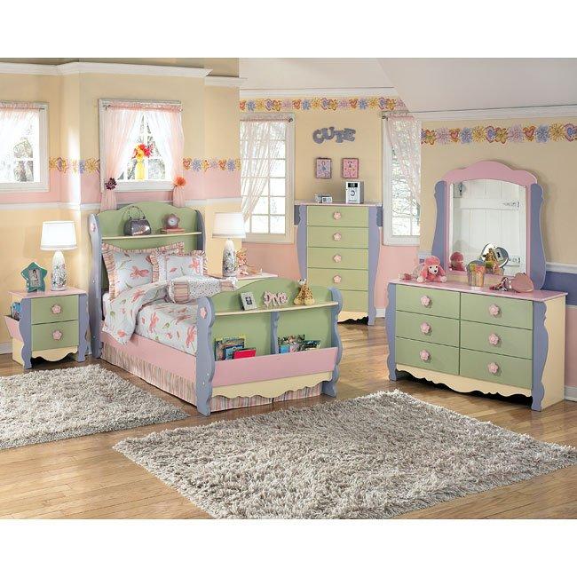 Doll House Sleigh Bedroom Set Signature Design, 2 Reviews ...