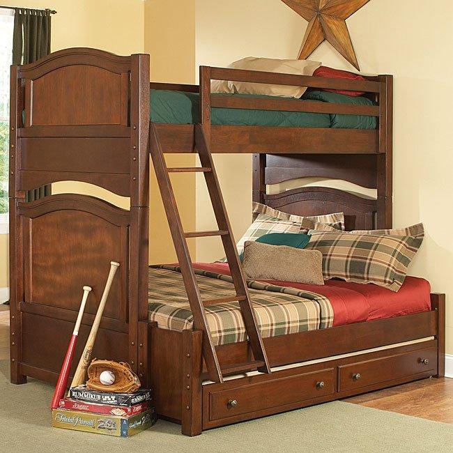 Ashley Furniture Orange County Ca: Aris Twin Over Full Bunk Bed Homelegance