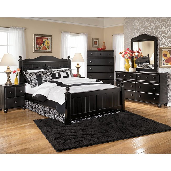 Jaidyn Poster Bedroom Set Signature Design Furniture Cart
