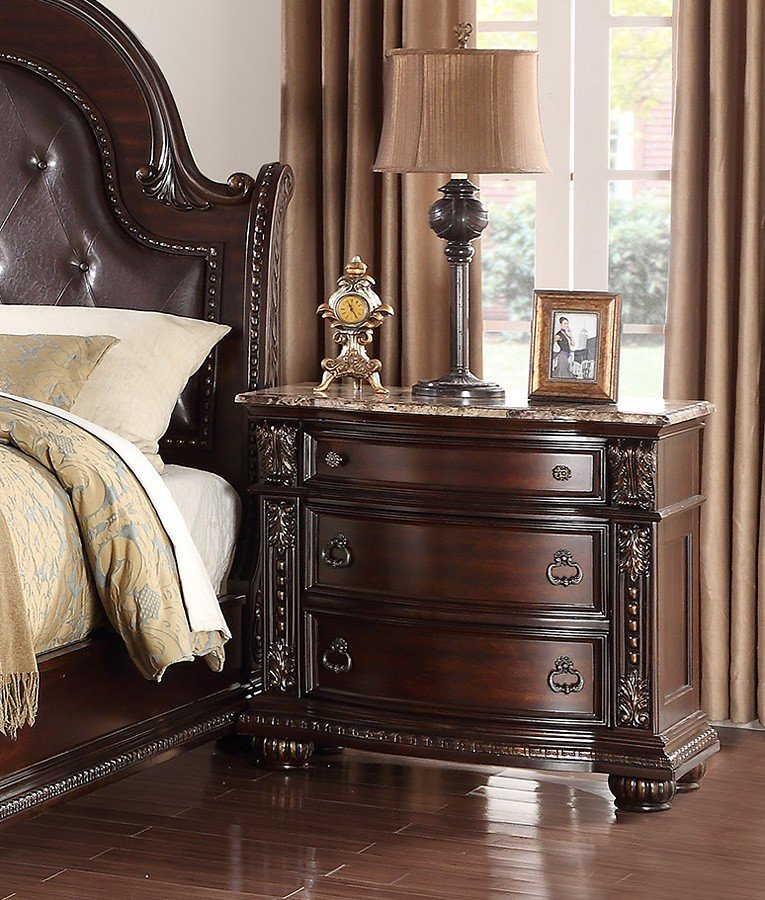 Stanley Sleigh Bed Crown Mark Furniture 1 Reviews Furniture Cart
