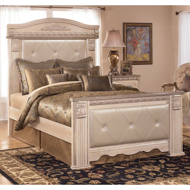 Silverglade Mansion Bedroom Set Signature Design Furniture Cart