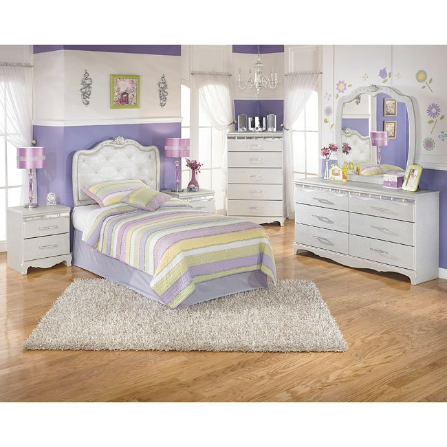 Zarollina Headboard Bedroom Set