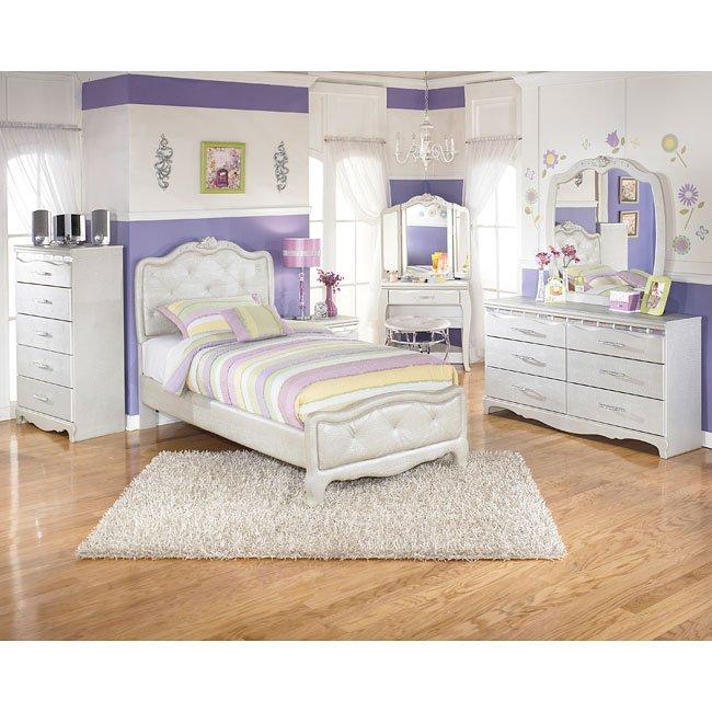 Zarollina Upholstered Bedroom Set