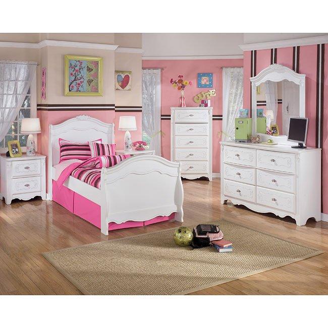 Exquisite Sleigh Bedroom Set