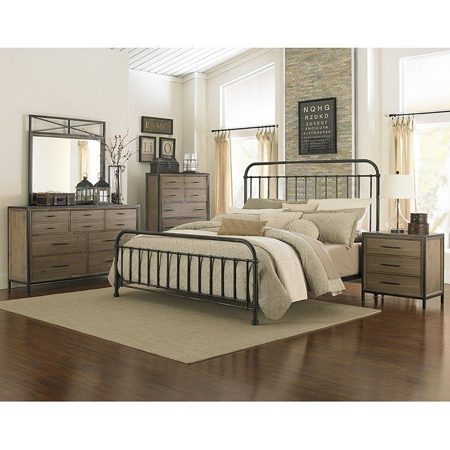 Charmant Shady Grove Metal Bedroom Set