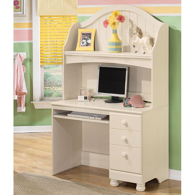 Cottage Retreat Desk With Hutch Signature Design