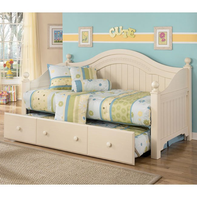 Cottage retreat day bed bedroom set signature design - Cottage retreat bedroom furniture ...