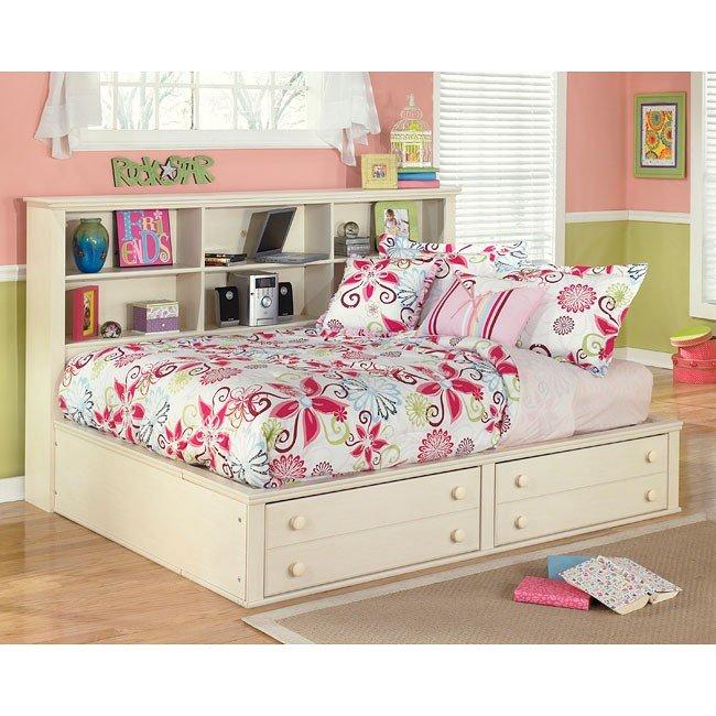 Cottage retreat bookcase bedroom set signature design - Cottage retreat collection bedroom furniture ...