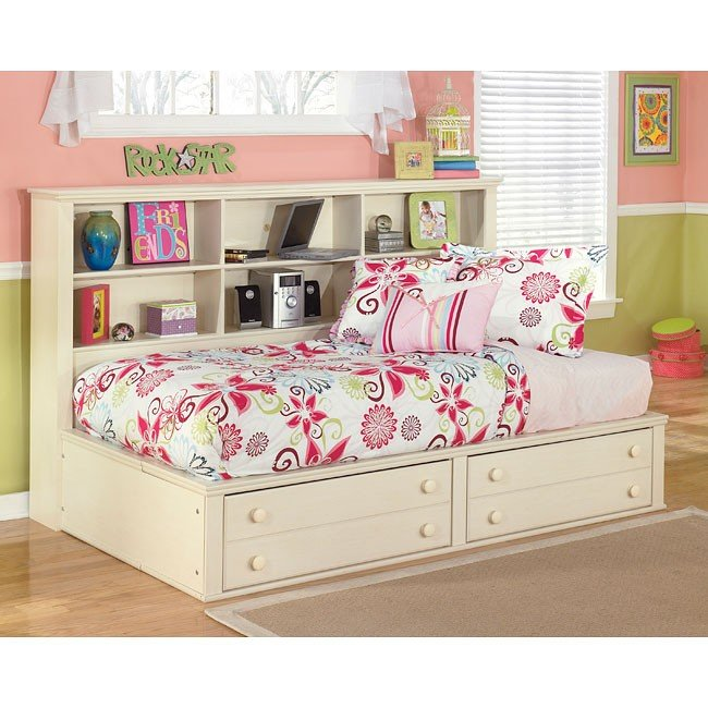 Cottage Retreat Bookcase Bed