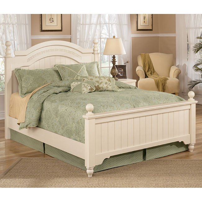Cottage retreat poster bedroom set signature design 2 - Cottage retreat collection bedroom furniture ...
