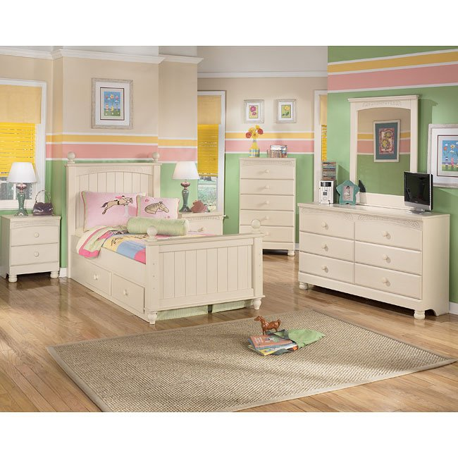 Cottage retreat youth poster bedroom set signature design - Cottage retreat bedroom furniture ...