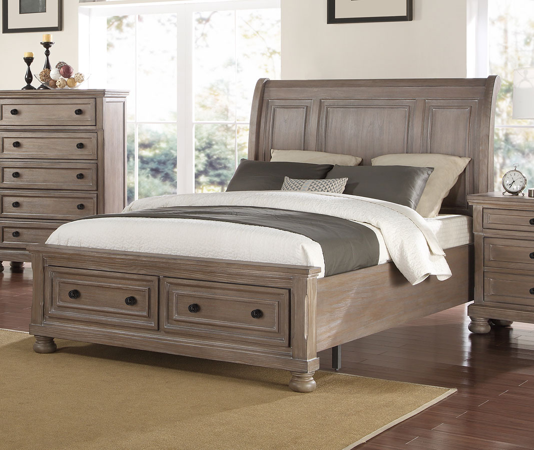 Allegra Storage Bedroom Set New Classic Furniture