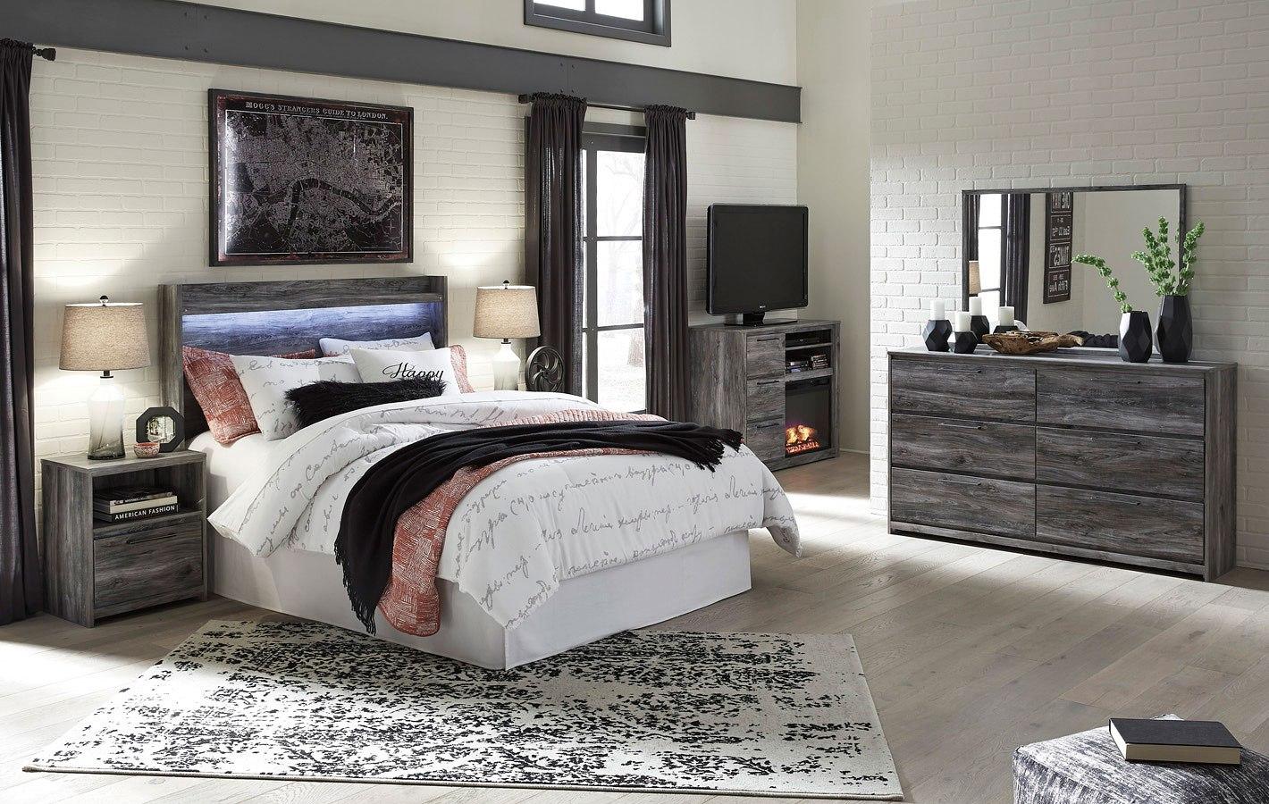 Baystorm Headboard Bedroom Set