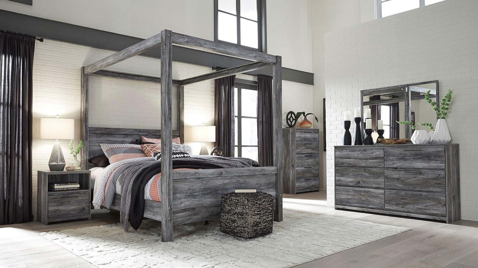 Baystorm Canopy Bedroom Set