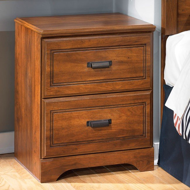 Barchan Two Drawer Nightstand