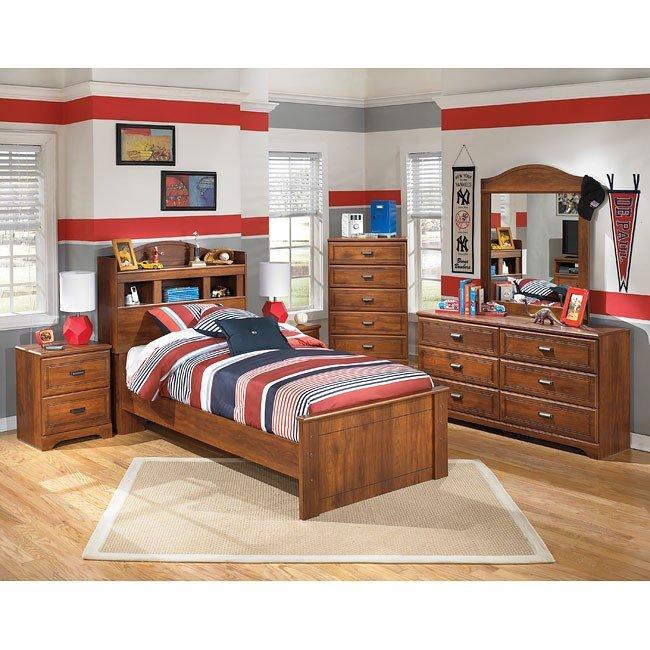 Barchan Bookcase Bedroom Set