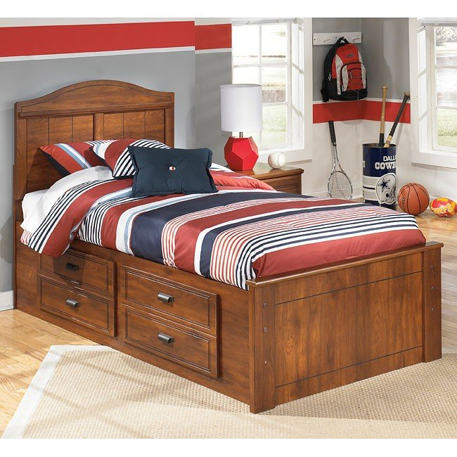 Barchan Storage Bed