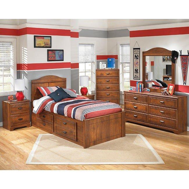 Barchan Storage Bedroom Set