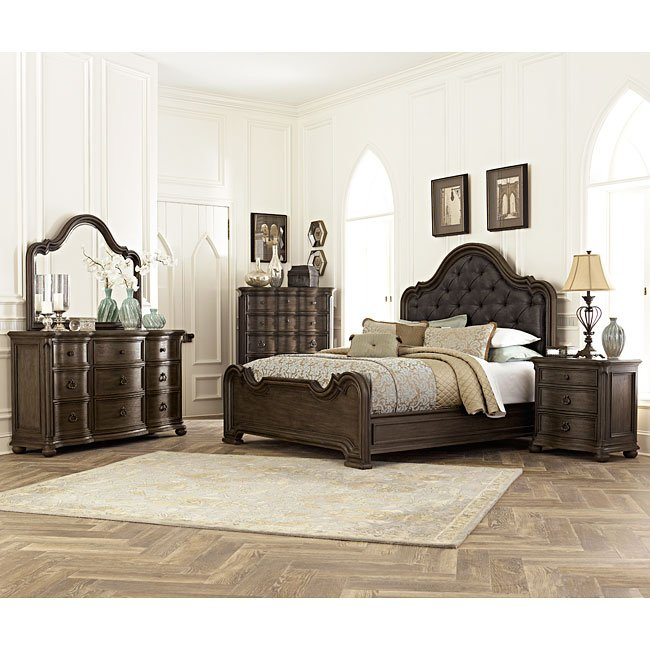 Broughton Hall Panel Bedroom Set