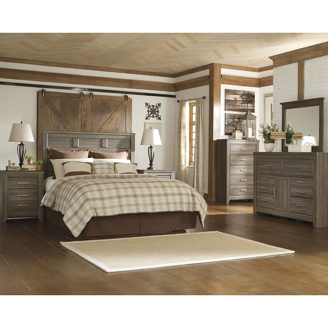 Juararo Headboard Bedroom Set