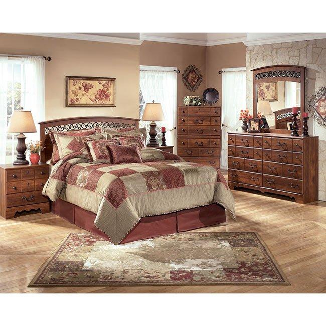 Timberline Queen/ Full Headboard Bedroom Set Signature