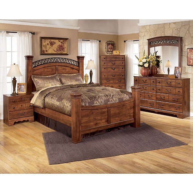 Timberline Poster Bedroom Set Signature Design Furniture