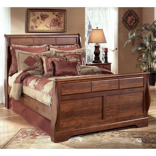 Timberline Sleigh Bed (Queen)