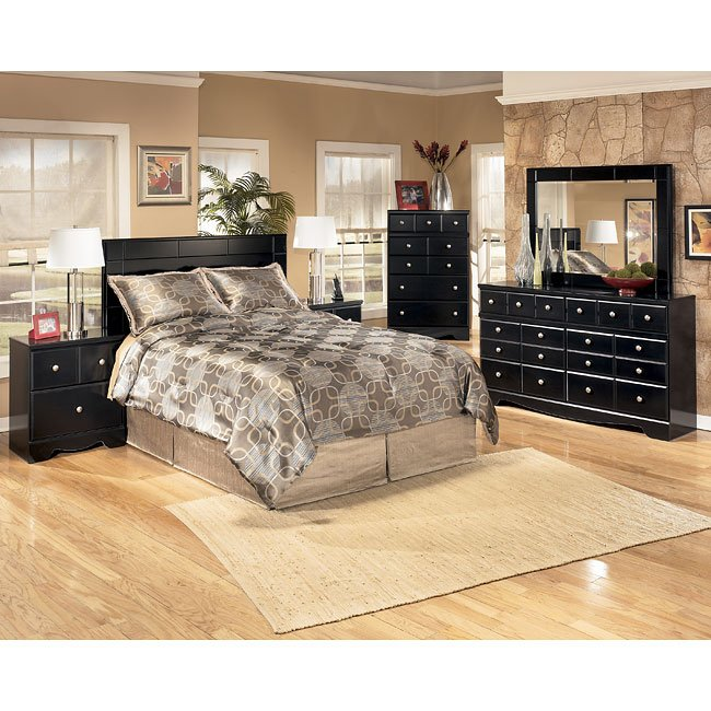 Shay Queen Full Headboard Bedroom Set Signature Design Furniture Cart