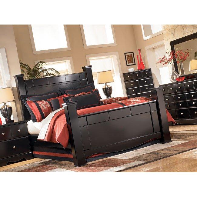 Shay Poster Bedroom Set Signature Design 4 Reviews Furniture Cart