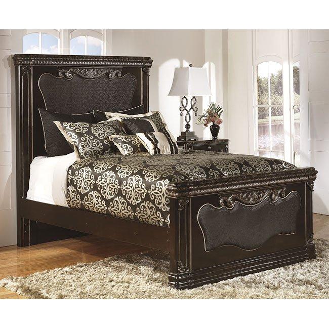 f9b52070322de3 Hopedale Mansion Bed Signature Design | Furniture Cart