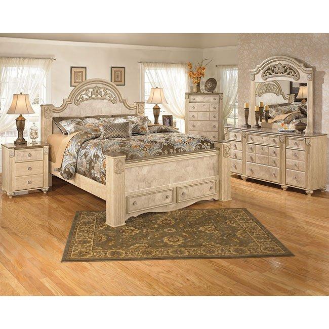 Saveaha Storage Bedroom Set Signature Design Furniture Cart