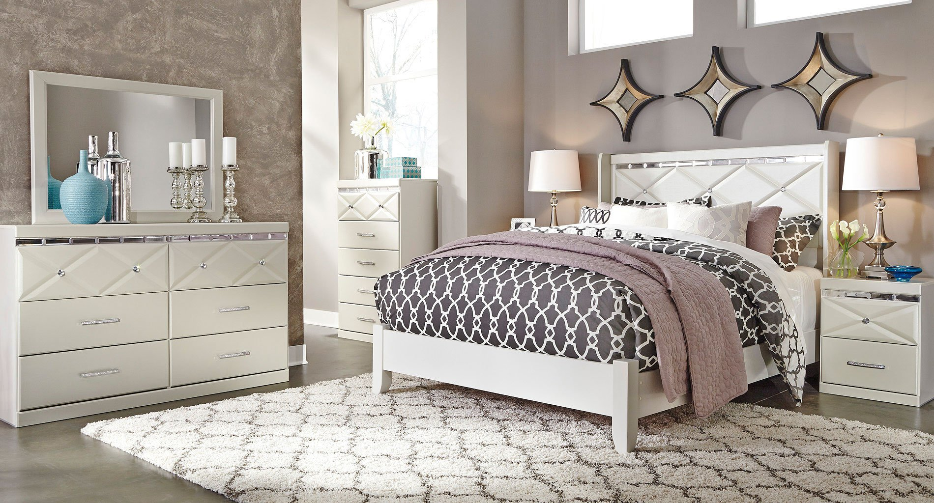 Dreamur Panel Bedroom Set