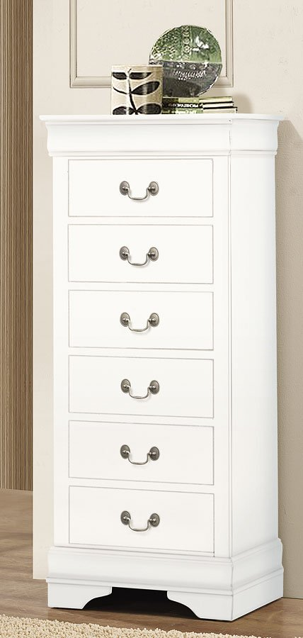 Louis Philip Lingerie Chest (White)