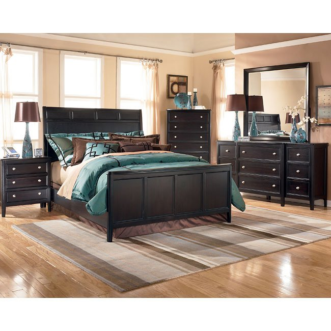 Carlyle Dining Room Set: Carlyle Panel Bedroom Set Signature Design By Ashley