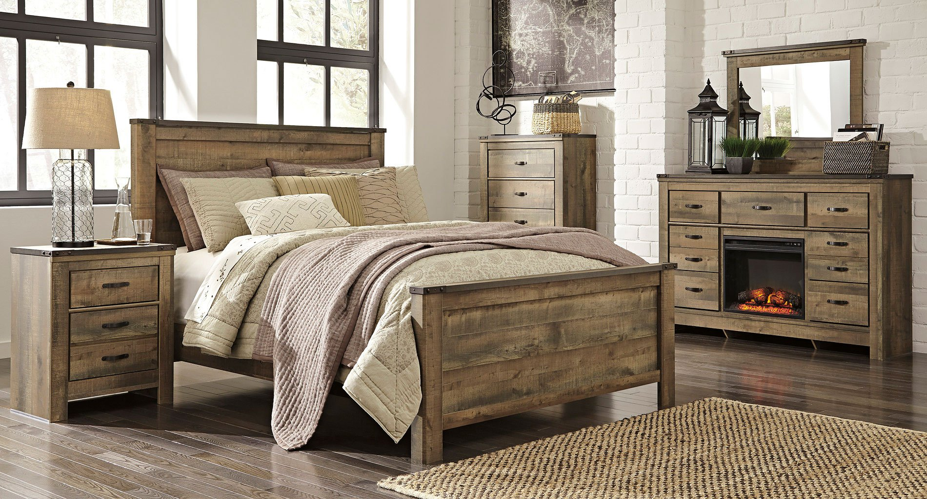Trinell Panel Bedroom Set