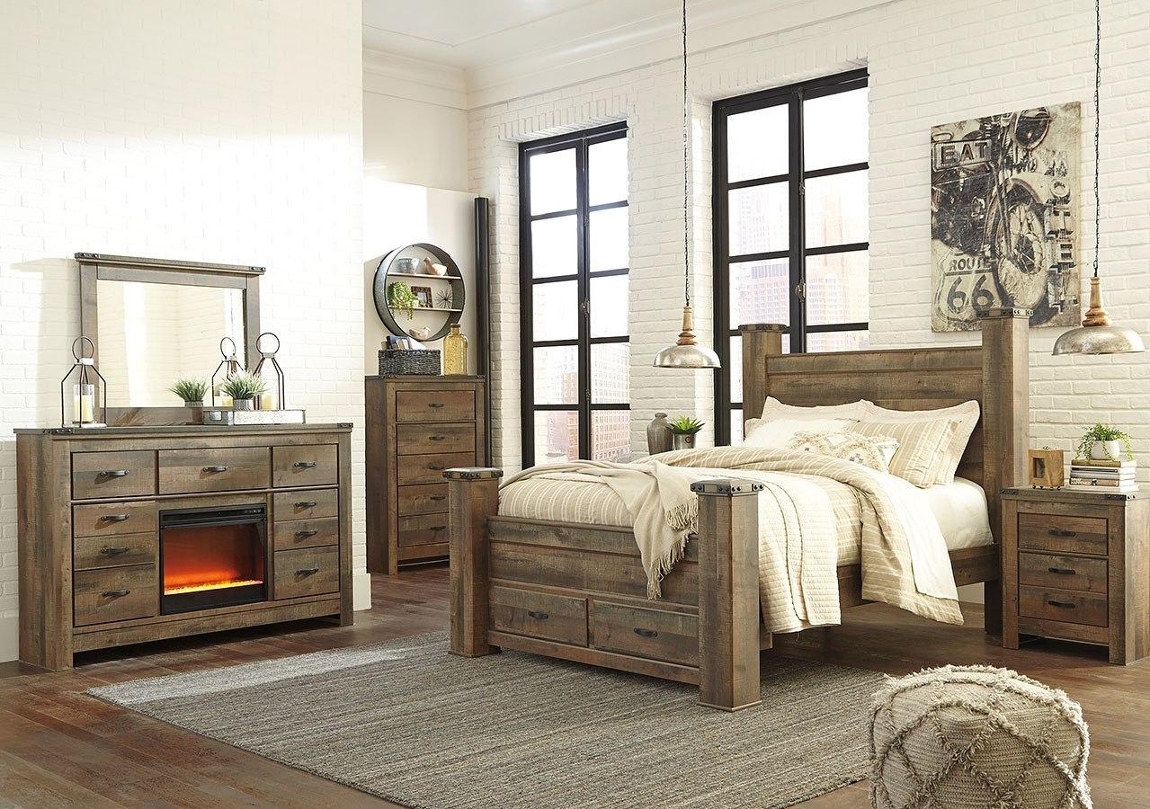 Trinell Poster Storage Bedroom Set Signature Design