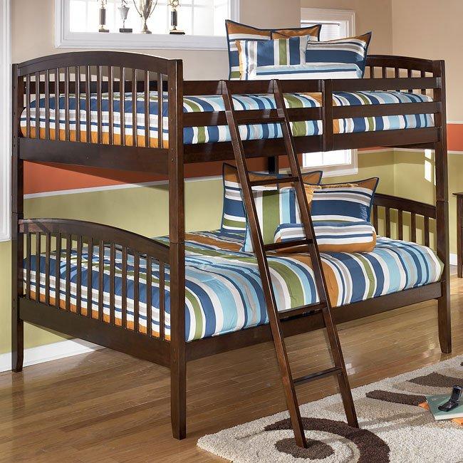 Nico Full Over Full Bunk Bed Signature Design Furniture Cart