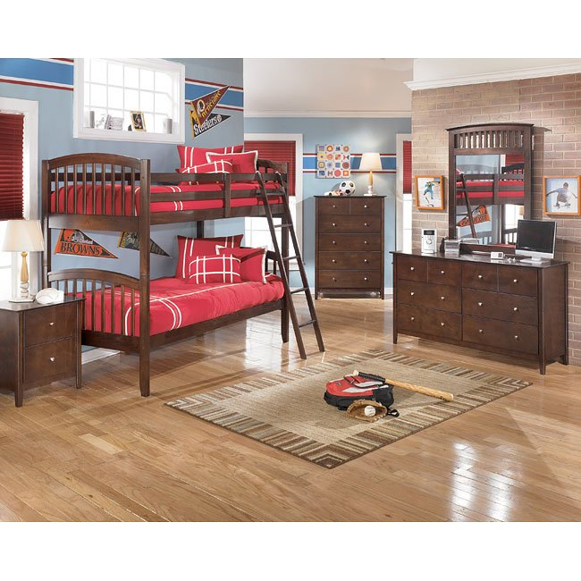Nico Bunk Bed Bedroom Set Signature Design Furniture Cart