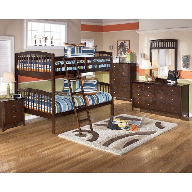 Nico Bunk Bed Bedroom Set Signature Design Furniture Cart