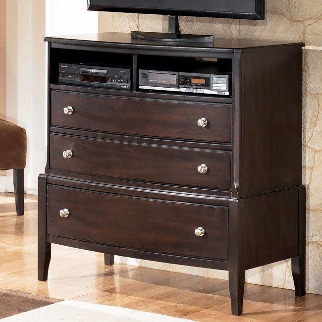 Naomi Bedroom Set W Beige Upholstered Bed Signature Design Furniture Cart